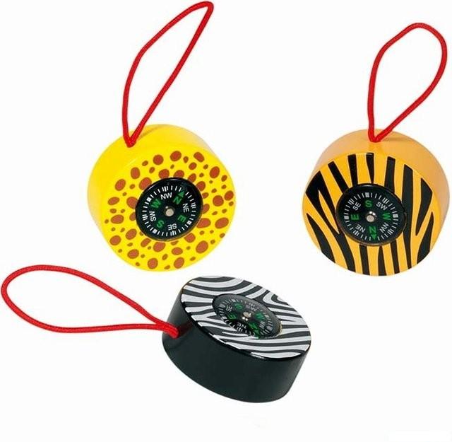 Dřevěné hračky - Dětský kompas - Safari 2f8a1700d3