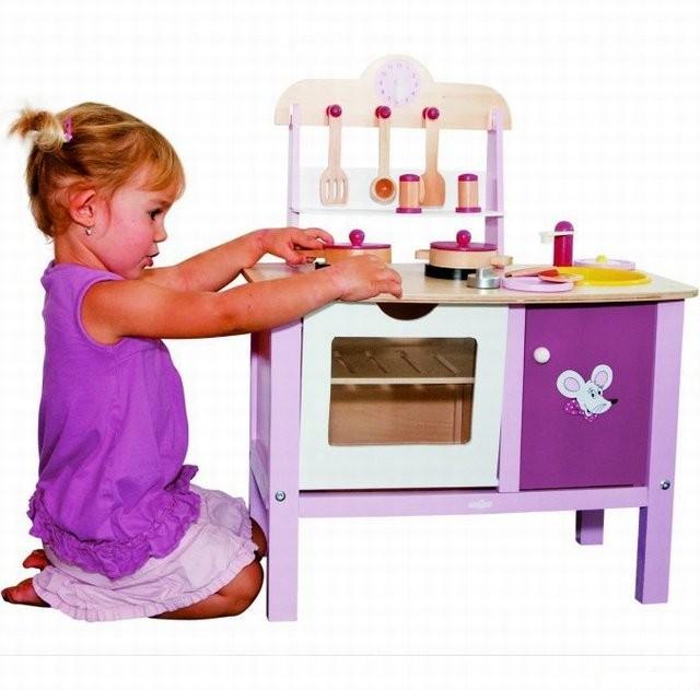 Kuchyň  Dětská kuchyňka malá Trendy (Woody)  Woody  Modroočko cz