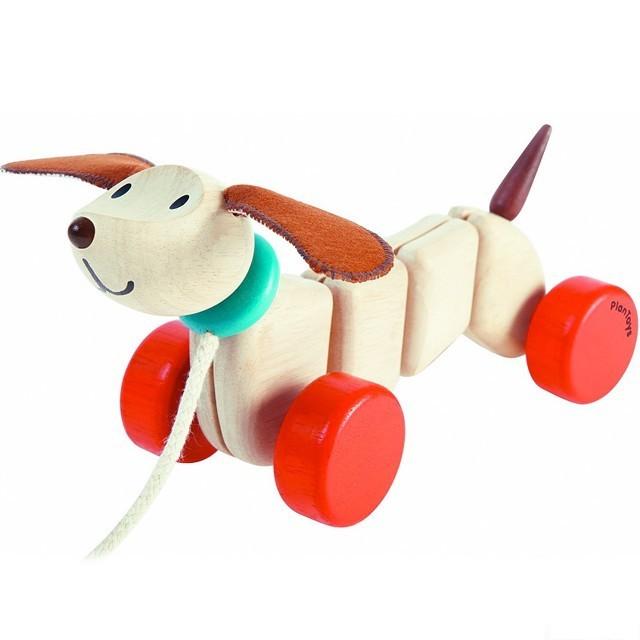 a2bb312e2 Tahací hračka - Šťastné štěně (PlanToys) | PlanToys - Modroočko.cz
