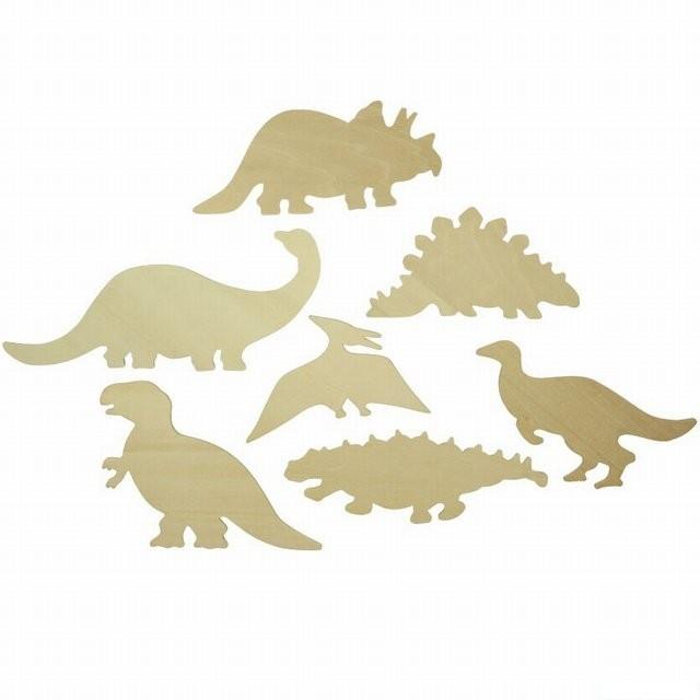 Kresleni Sablony Dinosauri 7ks Bigjigs Bigjigs Toys