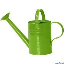 Zahradní nářadí - Konev kropící zelená, kov (Woody)
