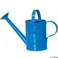 Zahradní nářadí - Konev kropící modrá, kov (Woody)
