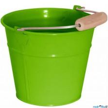 Zahradní nářadí - Kyblík zelený, kov (Woody)