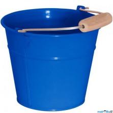 Zahradní nářadí - Kyblík modrý, kov (Woody)
