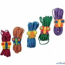 Skákací guma - S malým motýlkem, různé barvy (Legler)