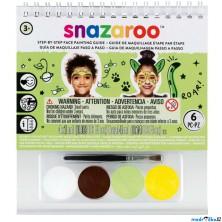 Snazaroo - Sada 4 barev na obličej, Mix