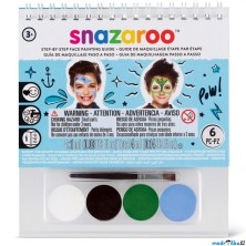 Snazaroo - Sada 4 barev na obličej, Chlapci