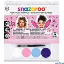 Snazaroo - Sada 4 barev na obličej, Dívky
