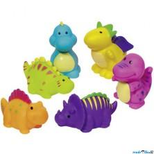 Hračka do vody - Stříkací dinosauři, 6ks (Goki)