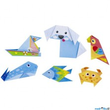 Kreativní sada - Skládačka z papíru, Origami (Goki)