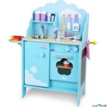 Kuchyň - Dětská kuchyňka dřevěná Blue Sky (Vilac)