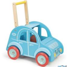 Vozík - Chodítko s madlem, Autíčko modré (Vilac)