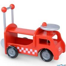 Odrážedlo - Chodítko hasiči dřevěné 2v1 (Vilac)