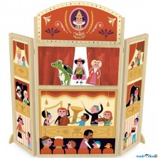 Divadlo - Dětské dřevěné divadlo Mon joli (Vilac)