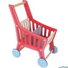 Prodejna - Nákupní vozík, Dřevěný Supermarket (Bigjigs)