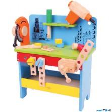 Malý kutil - Pracovní stůl, Ponk dřevěný (Bigjigs)