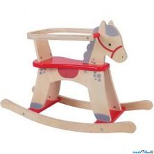 Houpadlo - Houpací kůň s ohrádkou, Koník (Bigjigs)