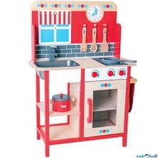 Kuchyň - Dětská kuchyňka dřevěná (Bigjigs)