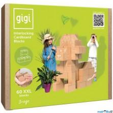 GIGI Bloks - Kartonové kostky, Obrovské XXL, 60ks