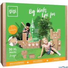 GIGI Bloks - Kartonové kostky, Velké XL, 30ks