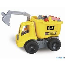 Mega Bloks - Nákladní auto CAT s maxi kostkami, 25ks