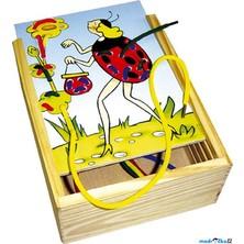 Šití - Provlíkací destičky v krabičce, Ferda mravenec (Bino)