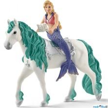 Schleich - Bayala, Mořská panna Gabriella na koni