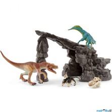 Schleich - Dinosaurus set, Jeskyně s dinosaury