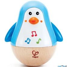 Hračka pro batolata - Balanční tučňák se zvuky (Hape)