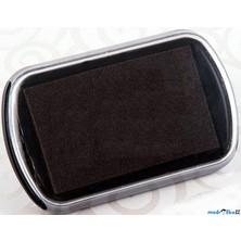 Razítkovací polštářek - Velký, barva černá
