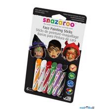 Snazaroo - Tužky na obličej, Strašidla, 6 barev