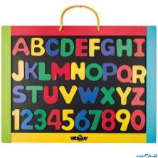 Magnetická tabule - S písmeny (Woody)