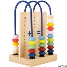 Počítadlo - Dřevěné menší edukační (Legler)