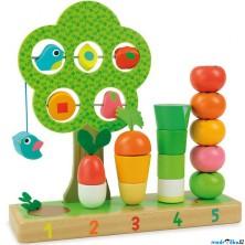 Skládačka - Multifunkční hračka Zahrádka (Vilac)