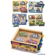 Puzzle pro nejmenší - Vkládačka mini, Doprava (M&D)