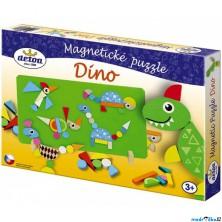 Puzzle magnetické - DINO (Detoa)