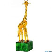 Mačkací figurka - Žirafa Johana (Detoa)