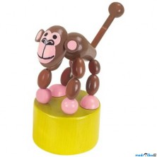 Mačkací figurka - Opička (Detoa)