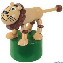 Mačkací figurka - Lev (Detoa)
