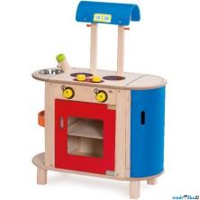Kuchyň - Dětská kuchyňka dřevěná (Wonderworld)