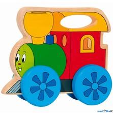 Vlak - Mašinka s držadlem (Woody)