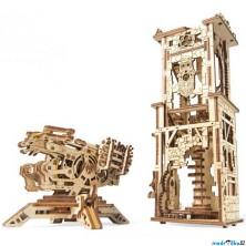 3D mechanický model - Archballista a věž (Ugears)