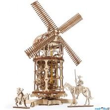 3D mechanický model - Větrný mlýn (Ugears)
