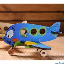 3D model k vybarvení - Letadélko (Ugears)