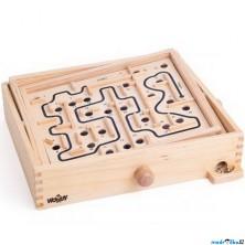 Motorická hra - Naklápěcí labyrint vyměnitelný (Woody)