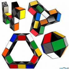 Hlavolam - Rubik's, Had Twist original