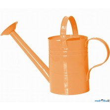 Zahradní nářadí - Konev oranžová/růžová, kov (Woody)