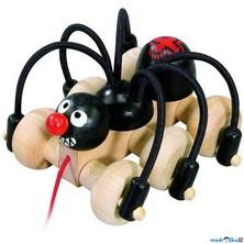 Tahací hračka - Černý pavouk (Detoa)