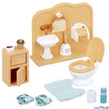 Sylvanian Families - Nábytek, Toaleta s příslušenstvím