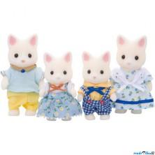 Sylvanian Families - Rodina kočiček hedvábných, 4ks